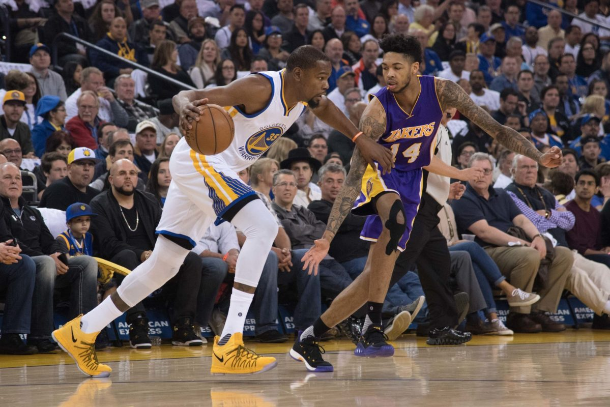 Brandon Ingram: Kevin Durant 'Is Always Sending Me Motivational Things'